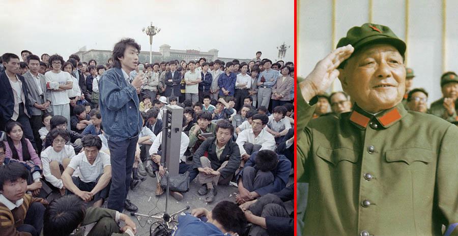 Дэна Сяопина в народе прозвали китайским Горбачевым. Именно он инициировал политику гласности в Поднебесной. Источник img-fotki.yandex.ru