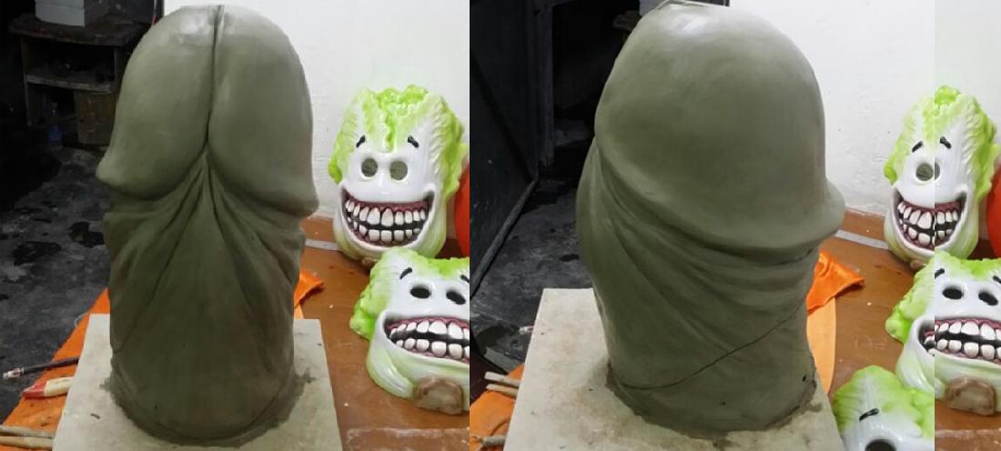 Если вдруг вам интересно, как лепили эту маску. Источник ru.aliexpress.com