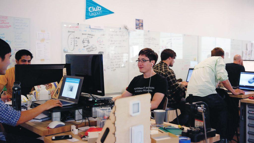 Работа с юными стартаперами