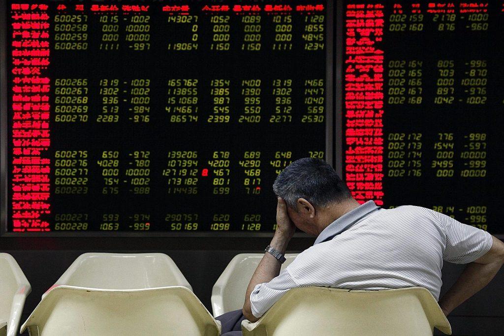 Самая популярная иллюстрация к китайским проблемам на фондовом рынке. Источник: www.straitstimes.com