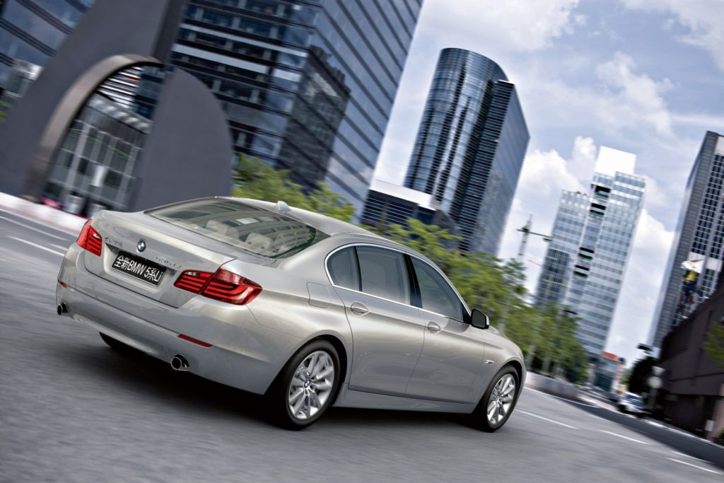 BMW 5 Series Long Wheelbase. Источник: www.bmwblog.com