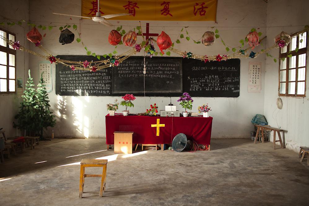 Протестантская церковь в Китае. Источник www.christianmetro.com