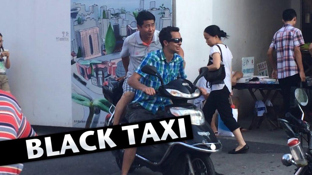 """""""Черные"""" такси в Шанхае - на каждом шагу. Источник: linkis.com"""