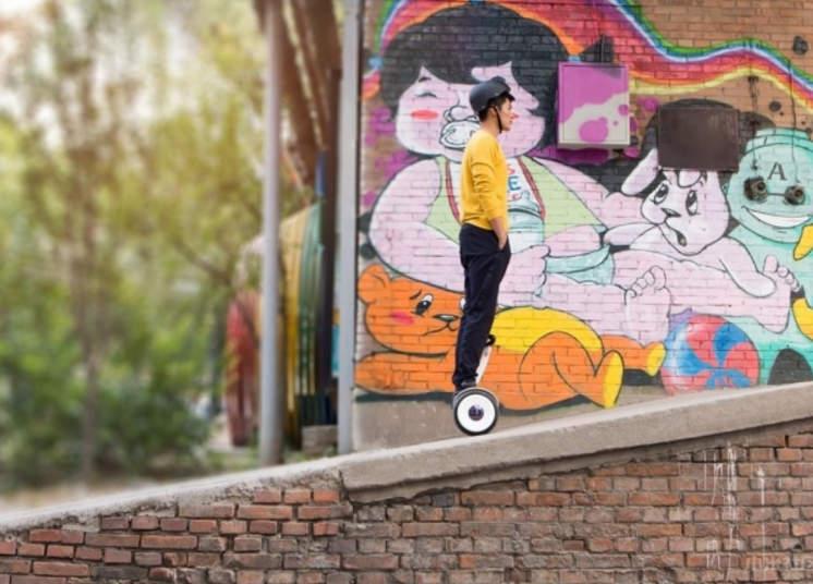 Ninebot Mini может легко подниматься под углом до 15 градусов. Источник: stgist.com