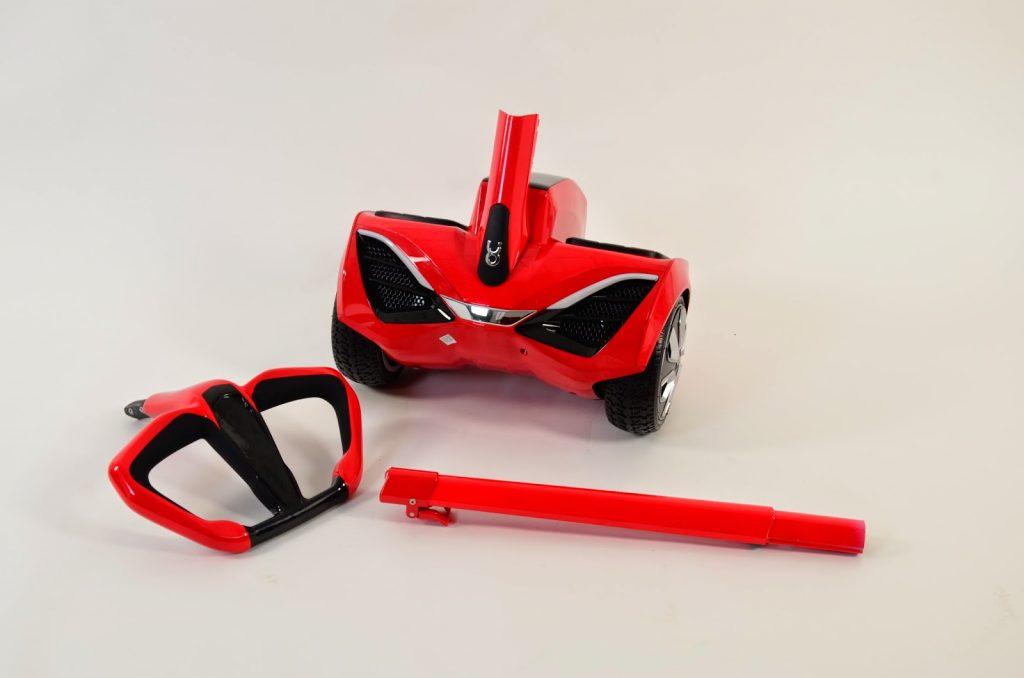 Сегвеи от Robstep имеют съемную ручку, что удобно при транспортировке. Источник: ukrobstep.com