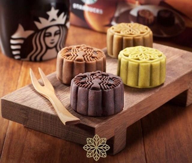 И снова новинка, о которой американцы могут только мечтать. Традиционные китайские вкусняшки в кофейне Старбакс. Фото: pinterest.com