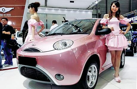 Китайцы уже изобрели авто, которое управляется через интернет! Фото avtofile.com