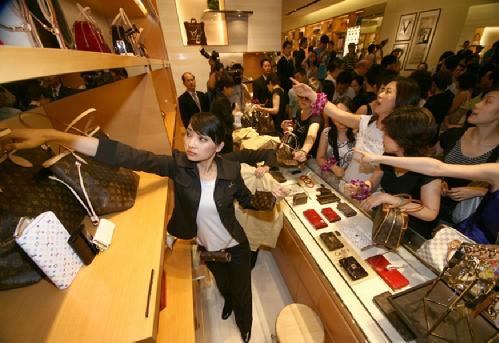 Китайские шопоголики в действии! Фото img12.nnm.me
