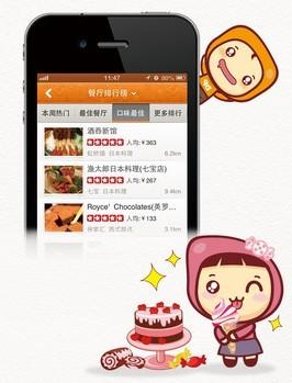 Приложение Dianping идеально подойдет для любителей набить живот в лучших ресторанах Китая. Фото: technode.com