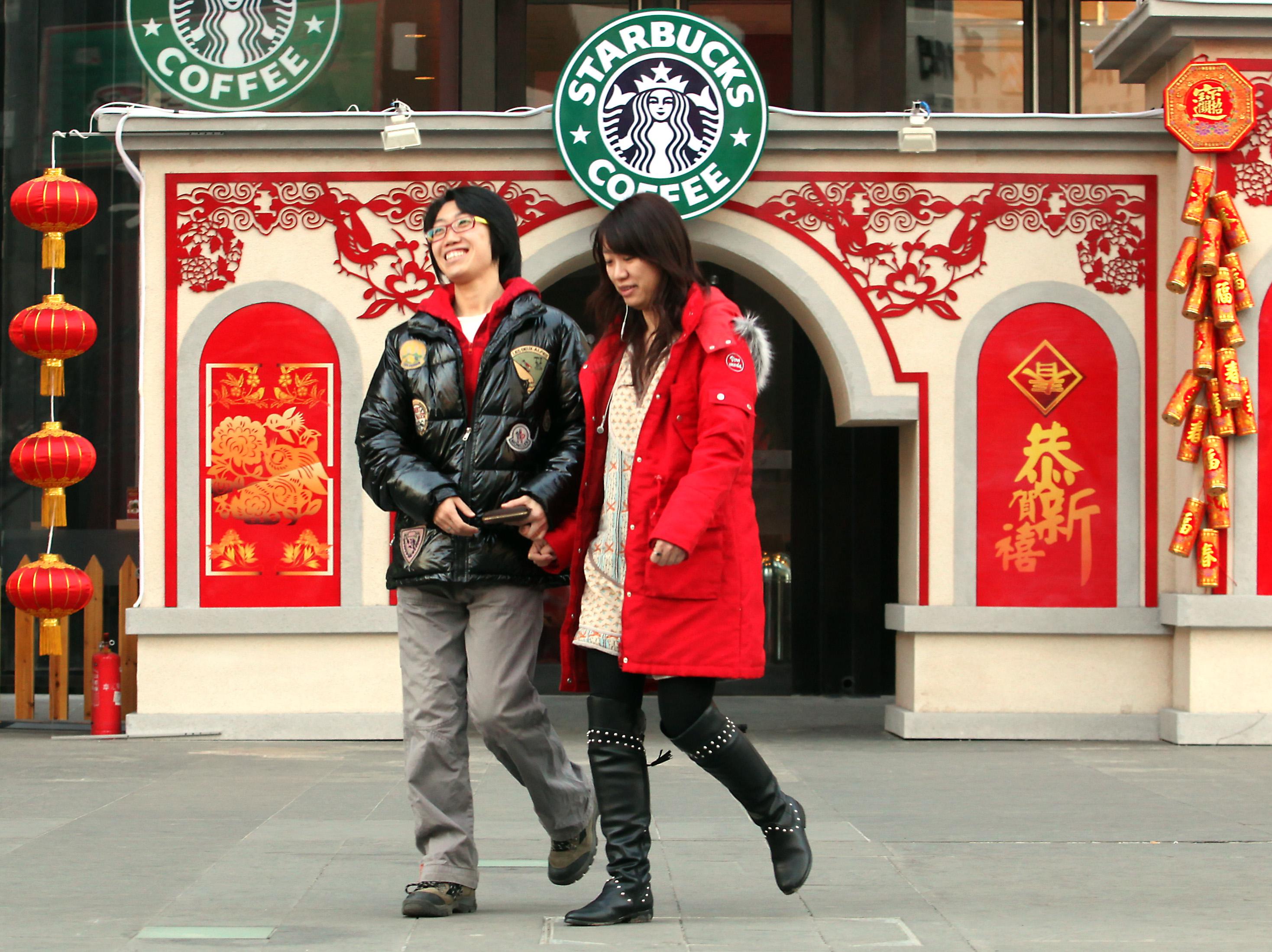 В Китае Starbucks всюду! В Пекине он даже маскируется. Фото bolod.mn