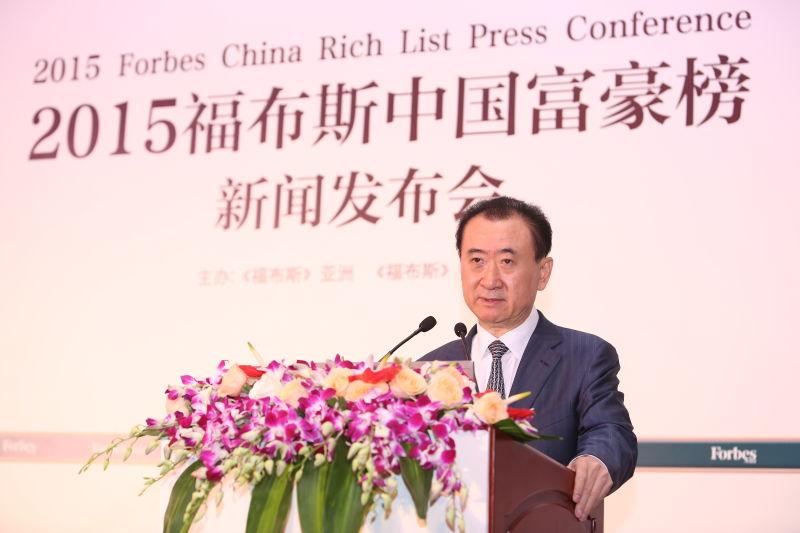 Вездесущий миллиардер Ван Цзяньлинь вернулся на вершину списка богачей Китая. Фото: forbes.com