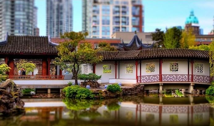 Китайские сады. Фото: liveinternet.ru