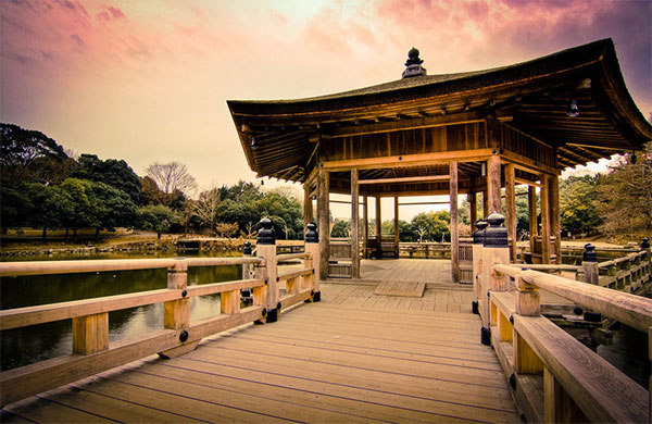 Китайский сад в стране восходящего солнца удивительно хорош. Фото: theworldofchinese.com