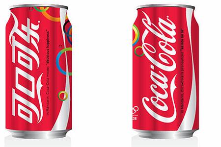 Кока-кола вывели на китайский рынок в 1928 году. Однако китайский аналог названия придумали со временем. В дословном переводе он означает «полный рот счастья». Фото www.prdesign.ru