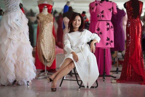 Модельера Гуо Пей называют королевой китайской высокой моды