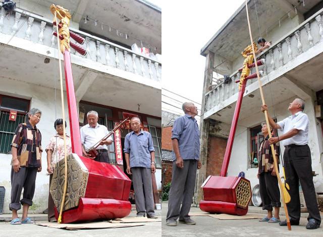 Самый большой эрху в мире. Фото: shanghaiist.com