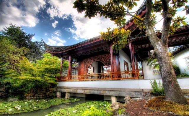 Удивительный китайский сад, где гармонию излучает каждый камешек. Фото: banar.uol.ua