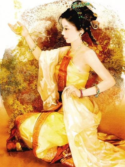 Такой представляют себе Моси современные китайские художники. Фото: nation.chinaso.com