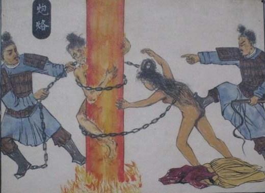Бронзовая Жаровня, рисунок из китайской книги. Источник: twwiki.com