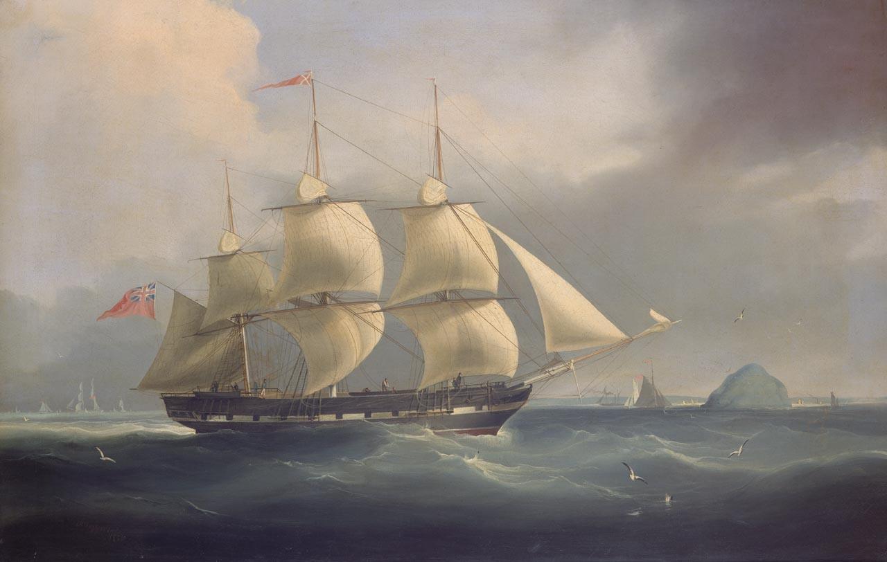 Джеймс Миллер Хаггинс, «Томас Кауттс» (1836). Источник: Национальный морской музей, Англия