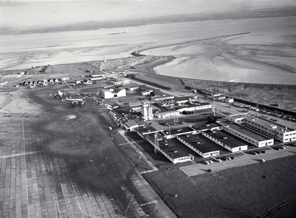 Аэропорт «Шаннон» в 1959 году