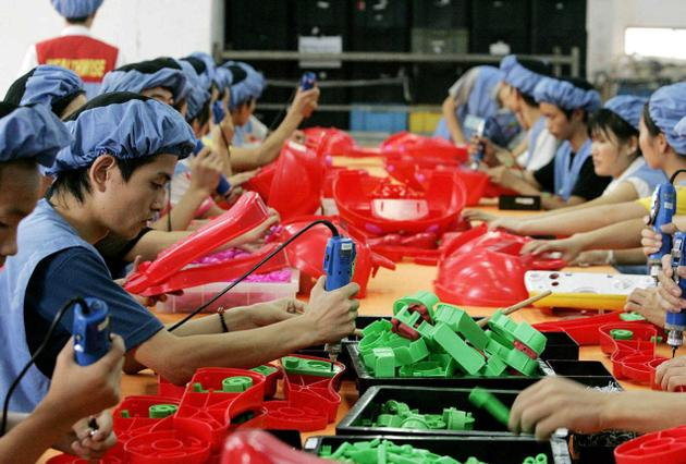 Chinese factories