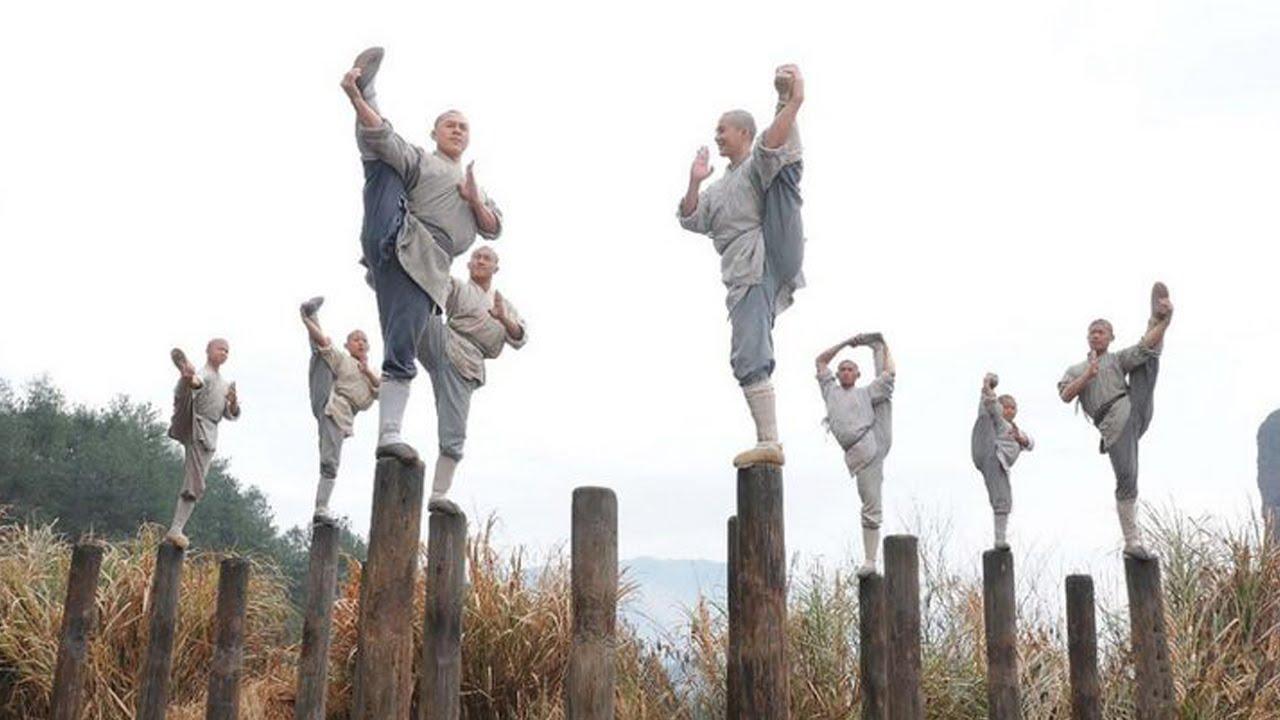 Джет Ли в роли монаха Шаолиня. Фото: youtube.com