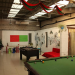Игровая зона в Blue Mountain Bund Youth Hostel