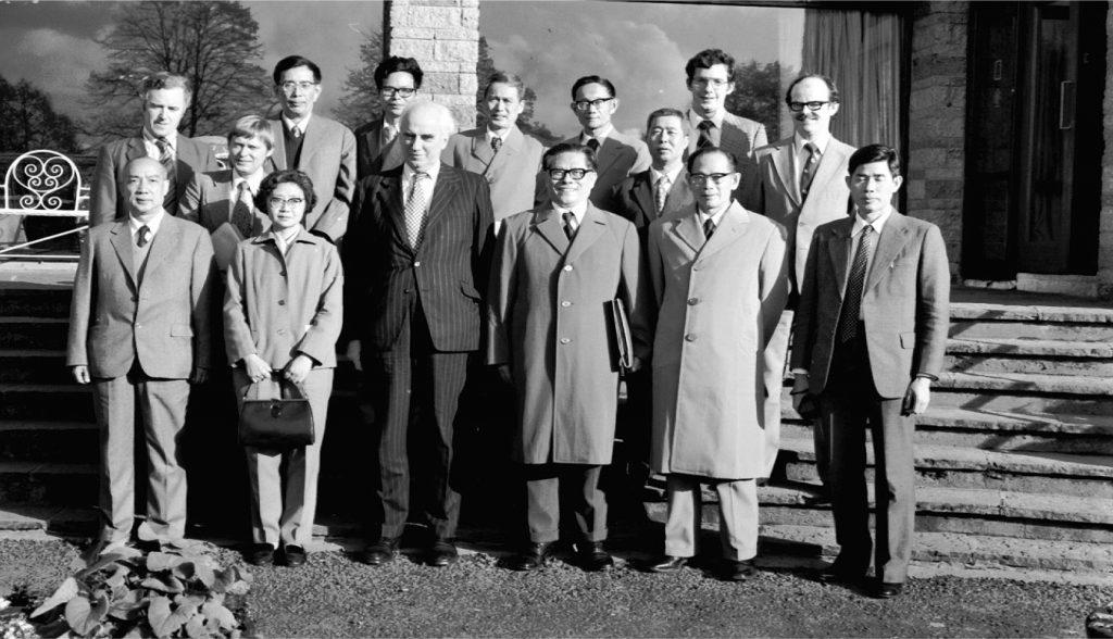 Китайская делегация в Шанноне (1960 г.)