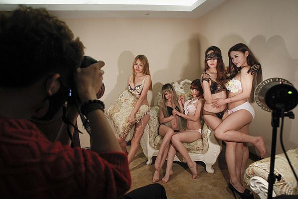 Съемки секси-подкастов в Китае. Фото: p3.pstatp.com