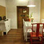 В оформлении хостела использована традиционная китайская мебель