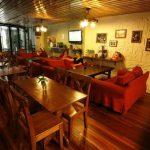 Ресторан в Mingtown Hiker Youth Hostel