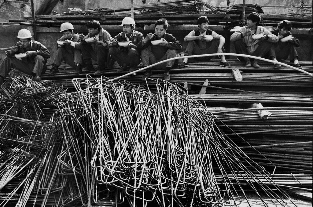 Рабочие на строительстве одного из объектов в Шэньчжэне