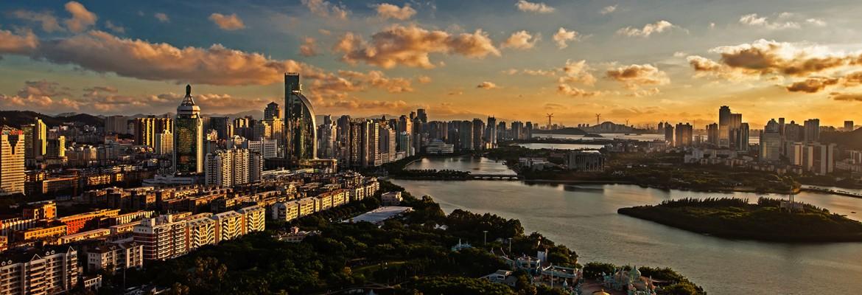 Еще один идеальный китайский город… Фото: https://mashalitour.ru/