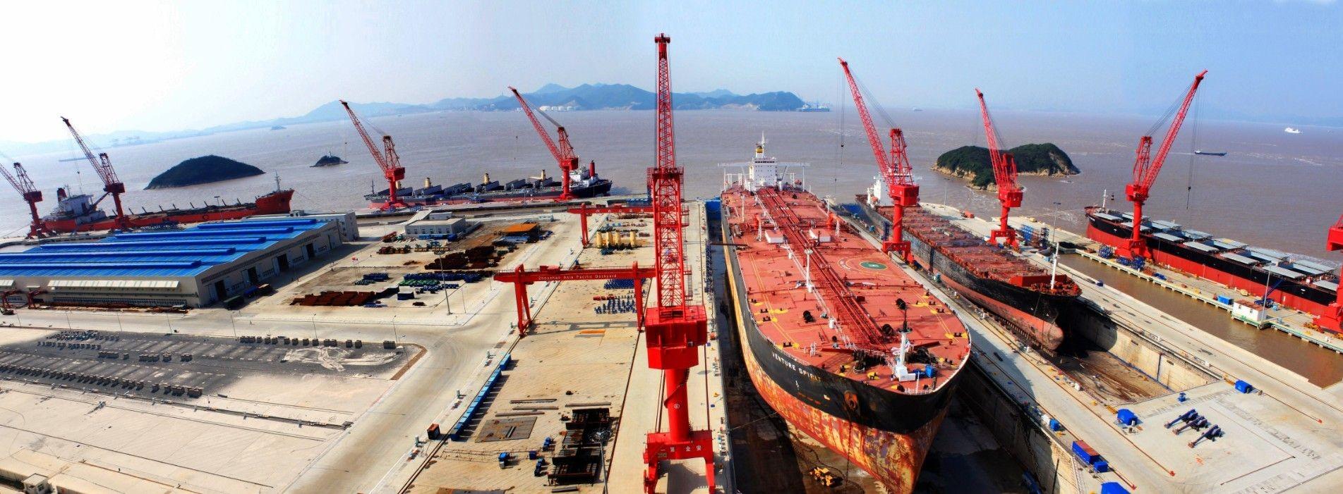 Единственное, чем славится Чжоушань - это порт. Фото: 100dorog.ru