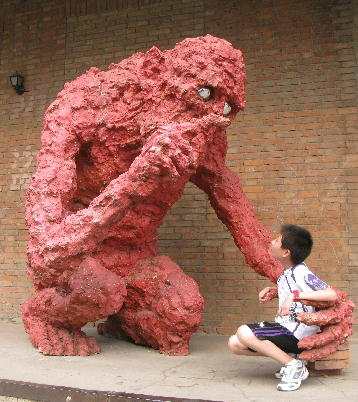 Эта скульптура - одна из самых популярных среди туристов. Фото: teachingtravel.com