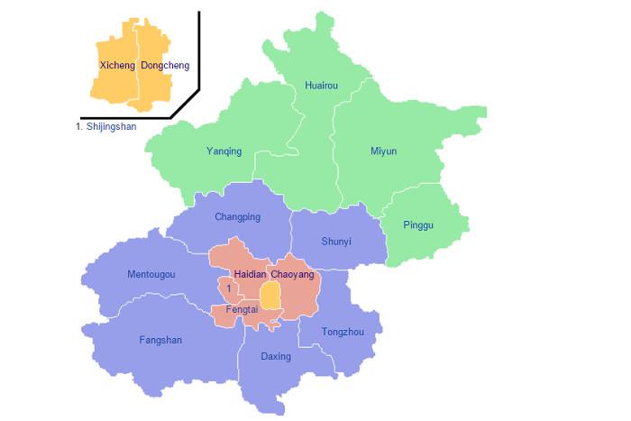 beijing-districts