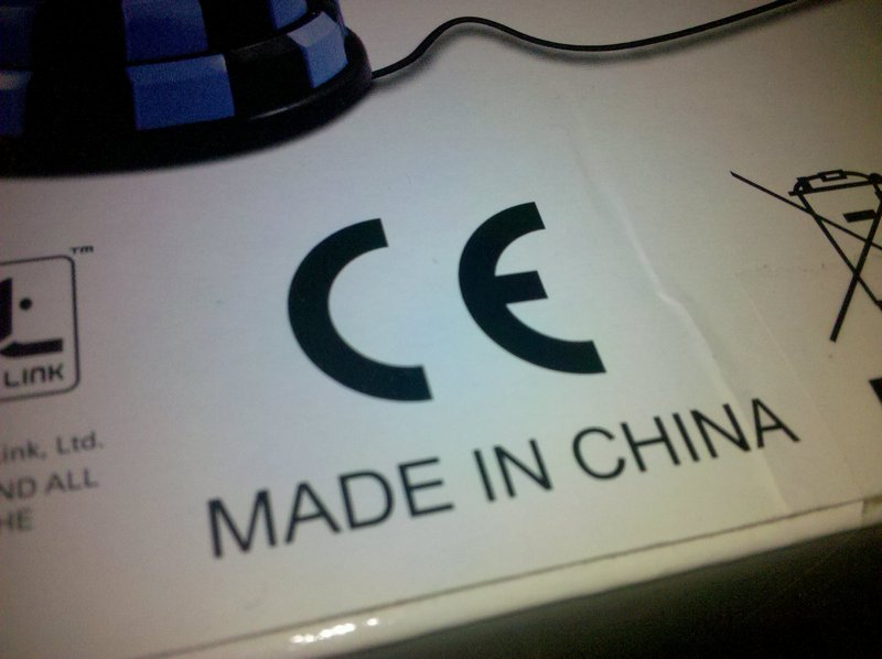 Европейский знак качества на изготовленной в Китае электронике