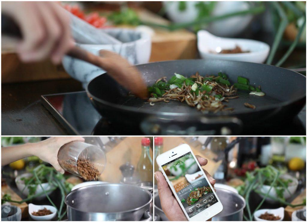 На сайте Livin Farms учат разводить и готовить червей