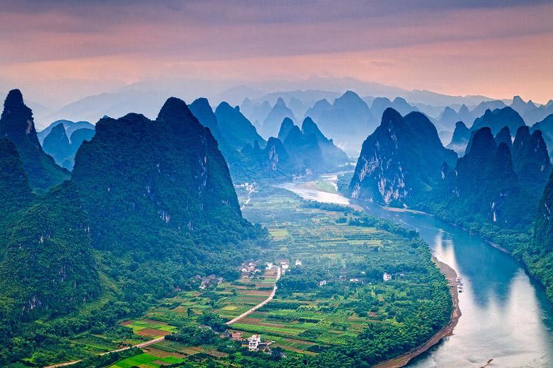 Китайские деревни красивы и загадочны. Сейчас поймете почему. Фото: othereal.net