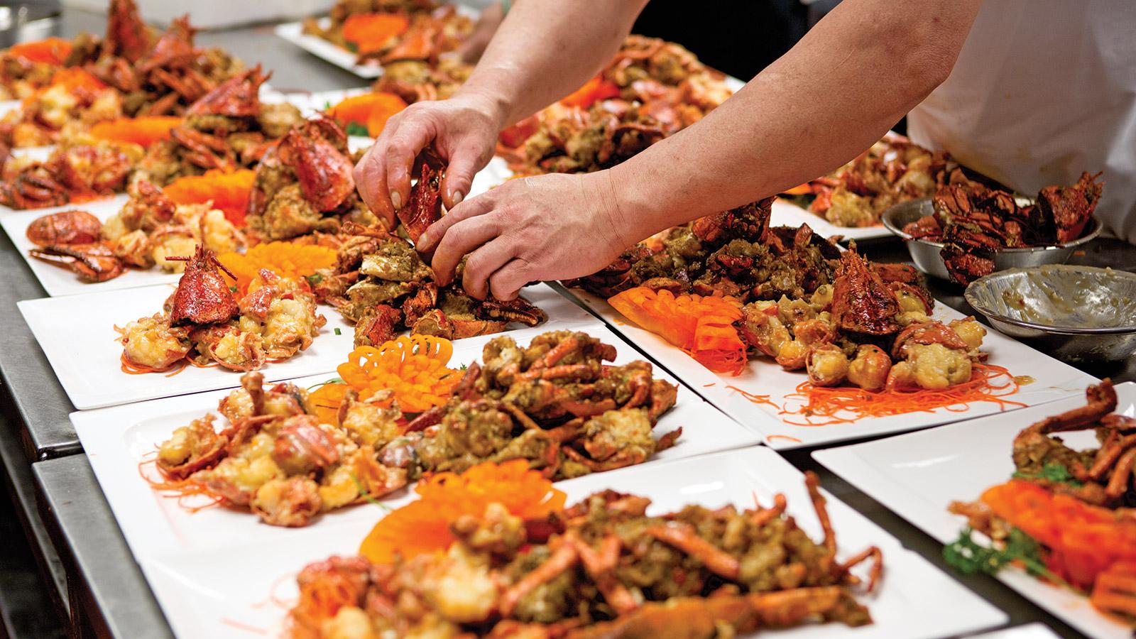 Блюда в пекинском ресторане Dao. Вместо тысячи слов. Фото: macleans.ca