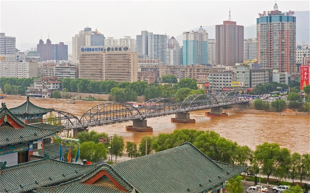 Точка выезда - китайский город Ланчжоу. Фото: newsstreet.ru