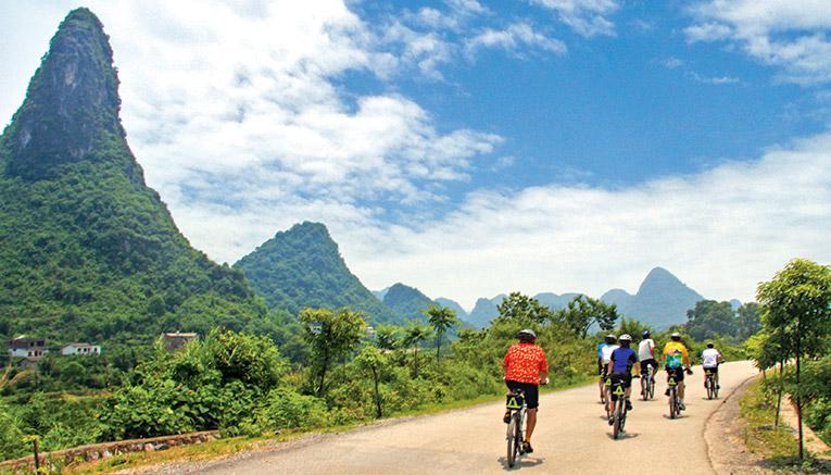 Велосипедные выходные в Китае. Фото: newsstreet.ru