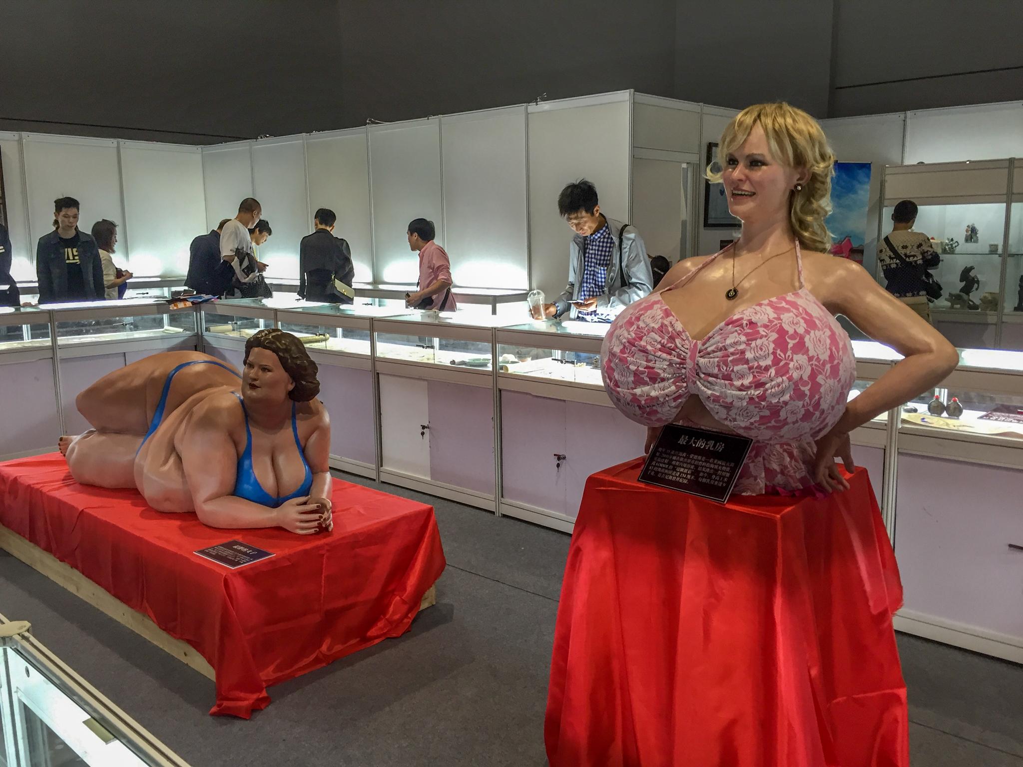 Выставочный стенд, посвященный секс-искусству