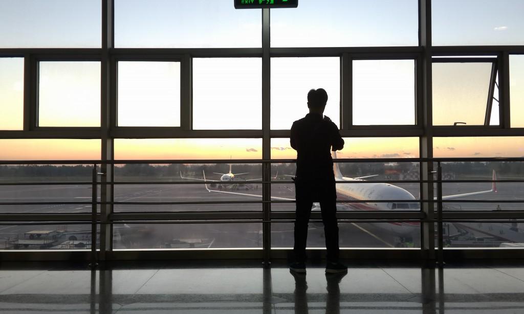 В ожидании вылета во Внутреннюю Монголию