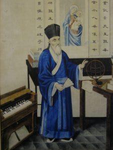 Отец Маттео Риччи в традиционном китайском облачении. Иллюстрация: Википедия