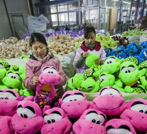 Китайская фабрика игрушек