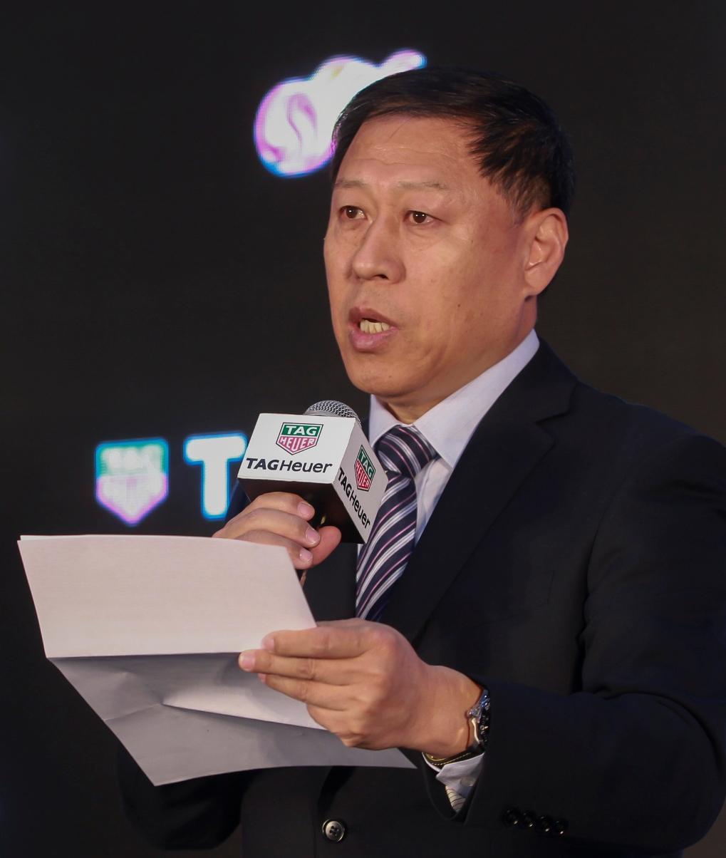 Президент китайской футбольной Суперлиги Ма Чэнцюань. Фото: watchonista.com