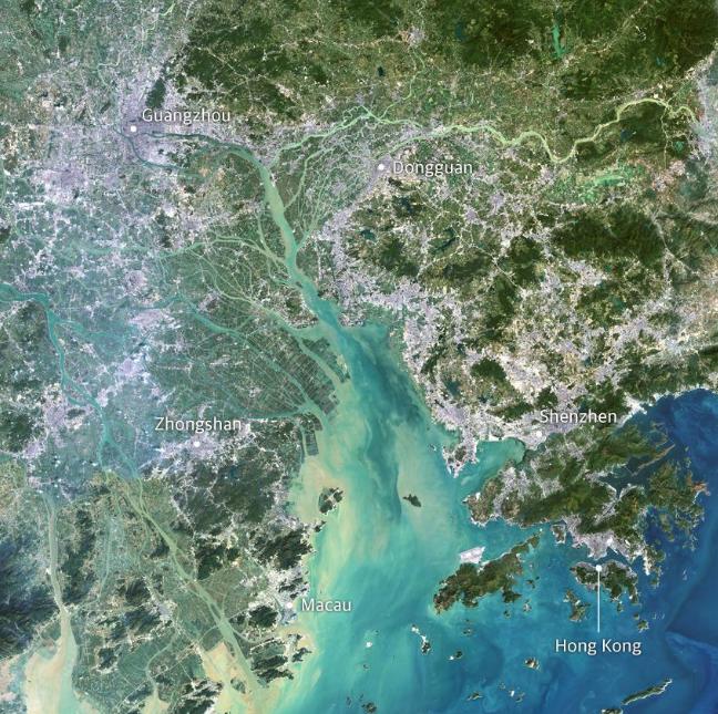 Китай. Жемчужная река.