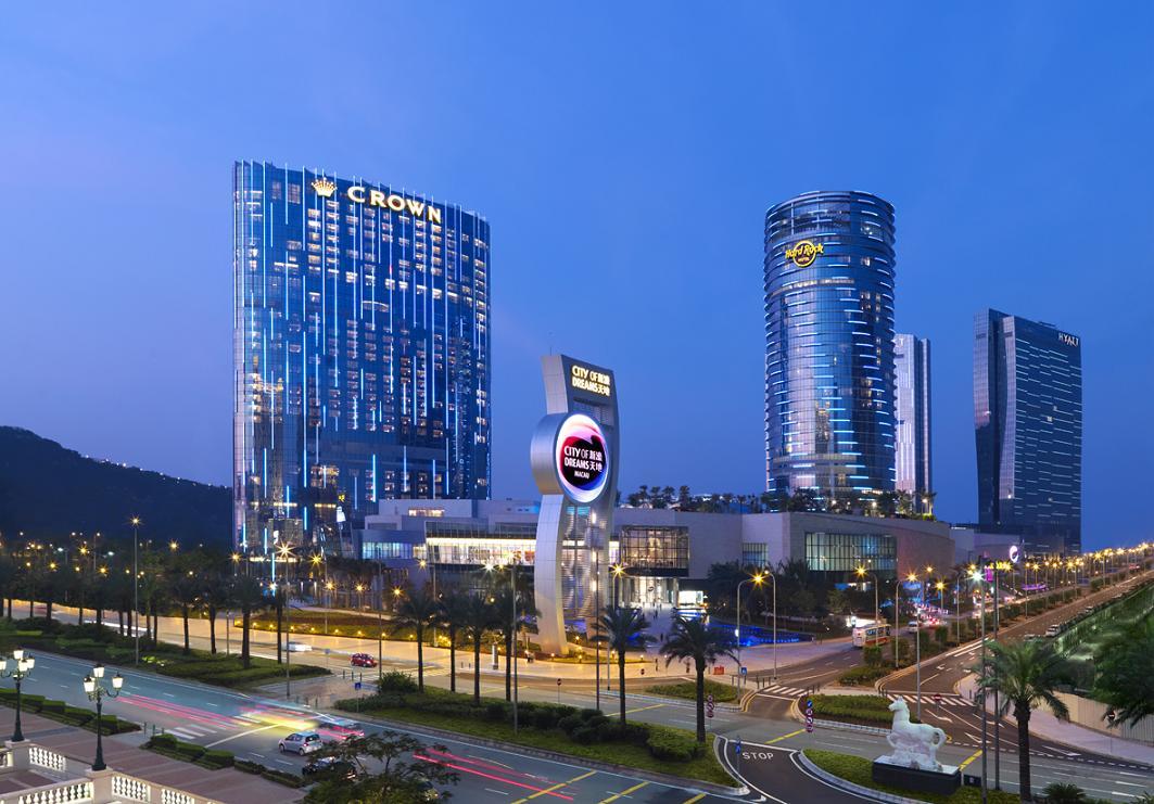 Комплекс Sity Of Dreams и Hard Rock Hotel Источник фото: desktopwallpapers.ru